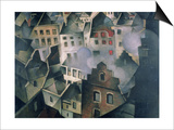 Ypres after First Bombardment Posters by Christopher Richard Wynne Nevinson