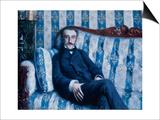 Portrait of Monsieur R., 1877 Posters tekijänä Gustave Caillebotte
