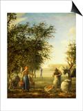 Apple Harvest Posters by Jean-François Millet