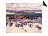 White Sands, Iona Prints by Francis Campbell Boileau Cadell