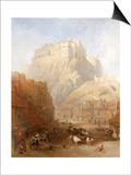 Edinburgh Castle from the Grassmarket, 1837 Prints by David Roberts