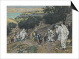 Jesus Heals the Blind and Lame on the Mountain from 'The Life of Our Lord Jesus Christ' Posters by James Jacques Joseph Tissot