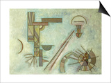 Weisslich, 1929 Art by Wassily Kandinsky