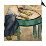 The Washerwoman, 1911 Poster af Kasimir Malevich