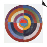 Premier Disque, 1913-14 Prints by Robert Delaunay