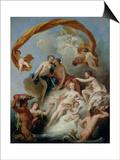 The Toilet of Venus Prints by Francois Lemoyne