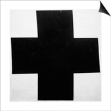 Black Cross Prints by Kasimir Malevich