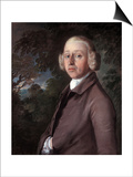 Portrait of Lambe Barry, C.1759 Print by Thomas Gainsborough