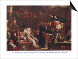 The Preaching of John Knox before the Lords of the Congregation in June 1559 Posters by Sir David Wilkie