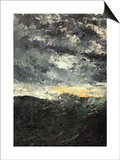 Sea Storm Posters by August Johan Strindberg