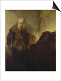 St, Paul, C. 1628-30 Posters by  Rembrandt van Rijn