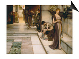 An Apodyterium, Rome, 1886 Prints by Sir Lawrence Alma-Tadema