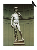 David Posters by  Michelangelo Buonarroti