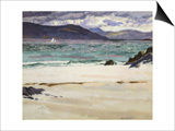 Ben Bhuie from the North End, Iona, C.1926 Prints by Francis Campbell Boileau Cadell