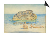 The Sunbathers, 1921 Print by Henry Scott Tuke