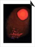 Wassily Kandinsky - One Spit, 1925 - Reprodüksiyon