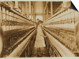Spinner in Lancaster Cotton Mills, South Carolina, 1908 Prints by Lewis Wickes Hine