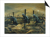 In the Trenches, 1917 Prints by Christopher Richard Wynne Nevinson