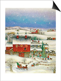 Country Christmas Posters by Bill Bell