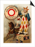 Clown, Horse, Acrobat and Arm and Hammer Brand Soda Posters