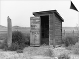 Private Outhouse Prints by Arthur Rothstein