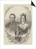 Victoria and Albert Poster