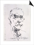 Thomas Mann (1875-1955) 13th March 1986 Prints by Horst Janssen