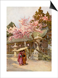 The Time of the Plum Blossoms Art by Ella Du Cane