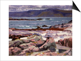 Sound of Iona, the Burg from the North Shore Posters by Francis Campbell Boileau Cadell