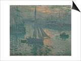Sunrise (Marine), 1873 Art by Claude Monet