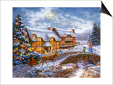 Country Cottages Posters by Nicky Boehme