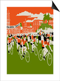 Giro, 2013 Posters by Eliza Southwood