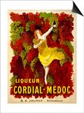 Liquer Cordial-Medoc, G. A. Jourde - Bordeaux Prints