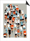 Peloton, 2013 Posters by Eliza Southwood