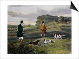 Partridge Hunting, 1835 Prints by Henry Alken