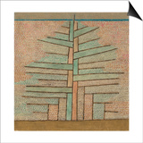 Pine Tree, 1932 Affischer av Paul Klee