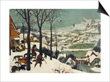 The Return of the Hunters Prints by Pieter Bruegel the Elder
