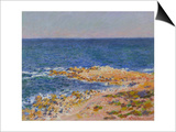 La Grande Bleue a Antibes, 1888 Prints by Claude Monet
