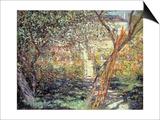 The Garden in Vetheuil, 1881 Poster by Claude Monet