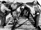 Railroad Women: Track Work 1920s Prints