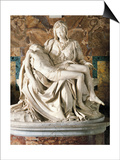 The Pieta Prints by  Michelangelo Buonarroti