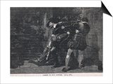 The Arrest of Guy Fawkes 1605 Poster by Gordon Frederick Browne