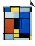 Tableau No, 1, 1921-25 Art par Piet Mondrian