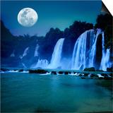 Waterfall Posters by  GoodOlga