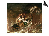 The Storm, 1829-30 Prints by William Etty
