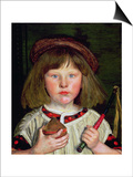 The English Boy, 1860 Prints by Ford Madox Brown