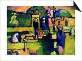 Arabian Graveyard, 1909 Posters tekijänä Wassily Kandinsky