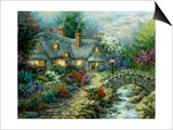 Country Cottage Art by Nicky Boehme