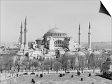 Hagia Sophia Mosque in Istanbul Posters by GE Kidder Smith