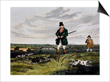 Partridge Hunting, 1835 Poster by Henry Alken